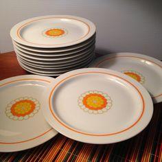 Georges Briard Florette salad plates