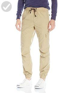 Unionbay Young Men's Neo Ripstop Jogger Pant Pants, -Grain, Small - Mens world (*Amazon Partner-Link)