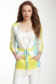 Oonagh Ingmar Woven Silk Blend Jacket by Nanette Lepore on @HauteLook...cute color blocking