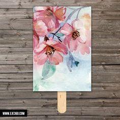 Pai pai acuarela flores - La Tienda de Eje360