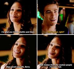 barry allen and iris west the flash - Yahoo Image Search Results