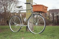 The Tweed Steed. Communiter bike for gents.