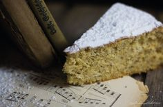 The recipe for this deliciously light, fluffy and orange scented Italian Almond Cake is paired with a playlist of music to be listened to while cooking and eating.
