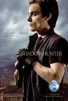 The Mortal Instruments: City of Bones official movie poster for Alec Lightwood (Kevin Zegers)
