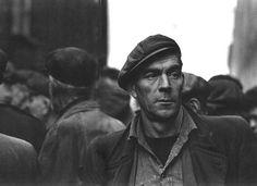 """Liverpool docks, Photo by Colin Jones, 1963 "" a longshoreman"