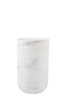 Fajen vase Marble White