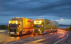 Camiones de DHL / DHL trucks