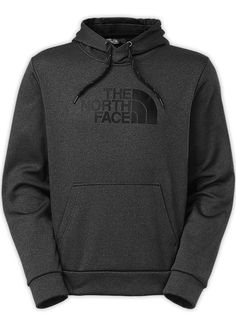 This Men's Surgent Hoodi in Asphalt Grey by The North Face is versatile for warm ups, cool downs, and everything in between, this performance-driven pullover is made from durable, soft stretch fleece