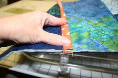 Quilt as you go tutorial... lots of pictures