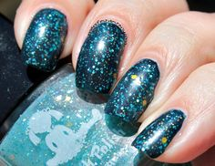 Dollish Polish Ferb, I Know What Were Gonna Do Today swatches review