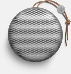 Beoplay A1 is a dust and splash resistant, ultra-portable, Bluetooth speaker with a built in microphone. #BangOlufsen