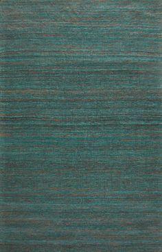 Sale Rugsville Textured Sari Silk 13858 Green | Rugsville.com