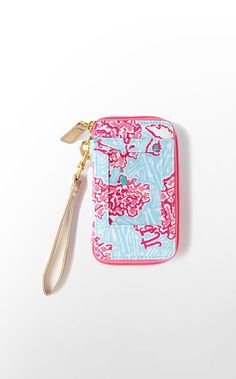Lily Pulitzer  Carded ID Wristlet- Pi Beta Phi @Katie Gerrity I thought you needed to see this!