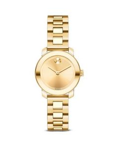 **** Movado BOLD Ion Plated Stainless Steel Watch, 25mm | Bloomingdale's