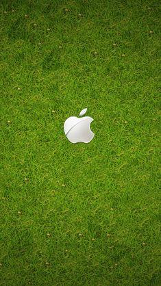 【新着1位】芝生に白いAppleロゴ | スマホ壁紙/iPhone待受画像ギャラリー