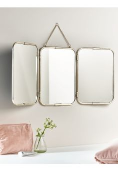 NEW French Triple Mirror - Large - Mirrors