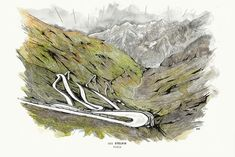 High On A Hill: Stefan Amato's Stelvio Pass Print | The Spoken