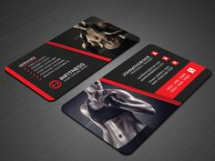 Personal trainer fitness business cards template photo credit mr fitness business card creativework247 colourmoves