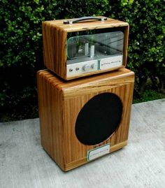 Beautiful custom cabinet and tube amplifiers