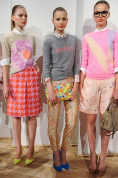 more J.Crew Spring 2013 - must have the clutch in the center