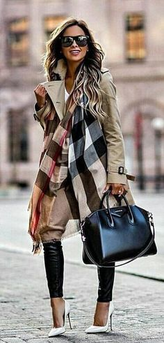 #fall outfits black leather 3-way tote bag