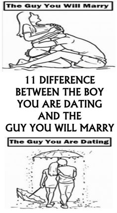 11 differences dating and marriage