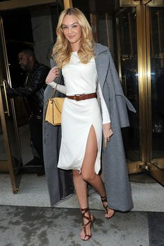 Candice Swanepoel at PIX 11 Morning News in New York