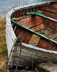 Old boat at Brigus, Newfoundland, @   rad_photo's photostream (Flickr)
