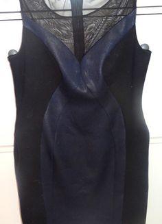 Kup mój przedmiot na #vintedpl http://www.vinted.pl/damska-odziez/sukienki-wieczorowe/12386774-sukienka-granatowo-czarna-dopasowana-z-siateczka-xl-42-monnari