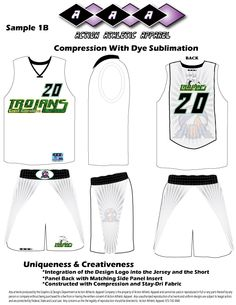 5df528444 Road and Home uniforms using Sublimation and Panel Designs