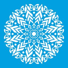 Mandala 11 x 11 in : Diy Laser Cut Stencils Ornament Pattern Template Geometric Lotu Stencils Mandala, Stencil Patterns, Laser Cut Stencils, Letter Stencils, Leaf Template, Templates, Laser Cut Panels, Black Rose Tattoos, Types Of Painting