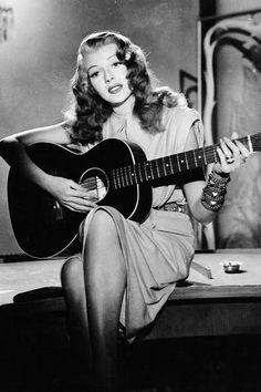 "vintagegal: ""Rita Hayworth in Gilda (1946) """