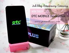 DTC Mobile GT6S SpeedPlus and 2nd Blogversary Giveaway! - Genzel Kisses http://www.genzelkisses.com/dtc-mobile-gt6s-speedplus-2nd-blogversary-review-giveaway.html