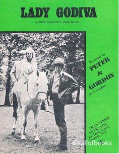 """Lady Godiva, recorded by Peter & Gordon sheet music sheet"""