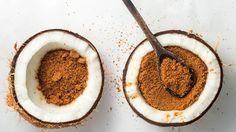 ζάχαρη καρύδας γλυκαντικό Chocolate, Tiramisu, Tableware, Ethnic Recipes, Portal, Food, Palm Sugar, Ideas, Dinnerware