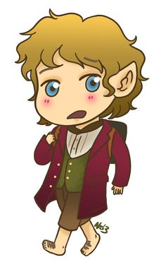 Bilbo Baggins from The Hobbit Magnet