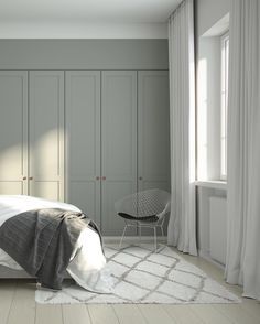 Finally an excuse to stay in bed all day! ❄️❄️ #wardrobes #ikeahack