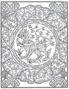 Thai Decorative Designs Dover Coloring Books Marty Noble
