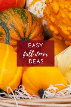 Super Easy Fall Decor Ideas — The Cardinal Press