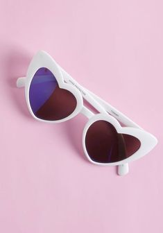 ad101205a6 Wholeheartedly Darling Sunglasses in White