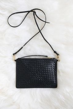 whyred leather bag