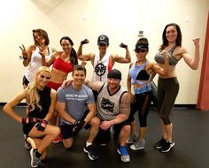 Team Foulgers Soldiers with Dan Ball lookin' #pumped at World Gym Westfield Palm Desert today! #beastmode #workout #fitness #WorldGym