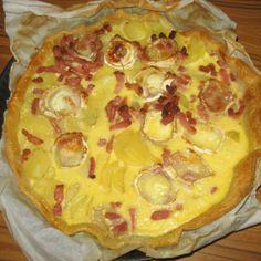 and goat cheese tart more potato lardons cheese tarts goat cheese ...