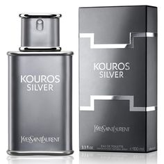 Yves Saint Laurent launched the iconic fragrance Kouros in 1981. Kouros Silver, coming out in 2015, is a new, modern interpretation of the classic. It is intended for summer season, fresher and cooler