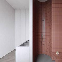 Modern Minimalist Apartment Designs Under 75 Square Meters Square Feet)- - apartments - Bad Inspiration, Decoration Inspiration, Bathroom Inspiration, Interior Inspiration, Decor Ideas, Bathroom Interior Design, Modern Interior Design, Modern Decor, Coastal Interior
