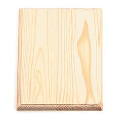 7 x 9 inch Rectangle Unfinished Wood Plaque