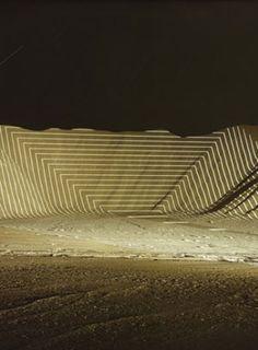 jim sanborn's landscape projections