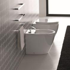 Hidra Ceramica   Standbidet mit Hahnloch   Serie Loft   Design: Carlo Urbinati