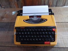 Whether it is Vintage or Retro you are after, this working typewriter is ideal for giving that extra special touch to your guest book. Or have your guests leave their advise for married life.