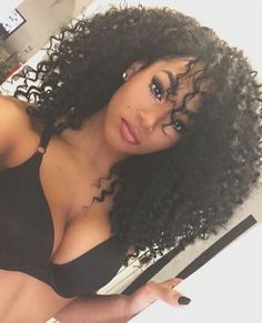 Cheap human hair wigs, Buy Quality kinky curly hair wig directly from China lace wig Suppliers: 360 Lace Wig Density Lace Front Human Hair Wigs Brazilian Kinky Curly Hair Wig Full Lace Human Hair Wigs For Black Women Curly Crochet Hair Styles, Curly Hair Styles, Natural Hair Styles, Curly Crochet Braids, Pelo Afro, Pelo Natural, Kinky Curly Hair, Big Hair, Brazilian Hair
